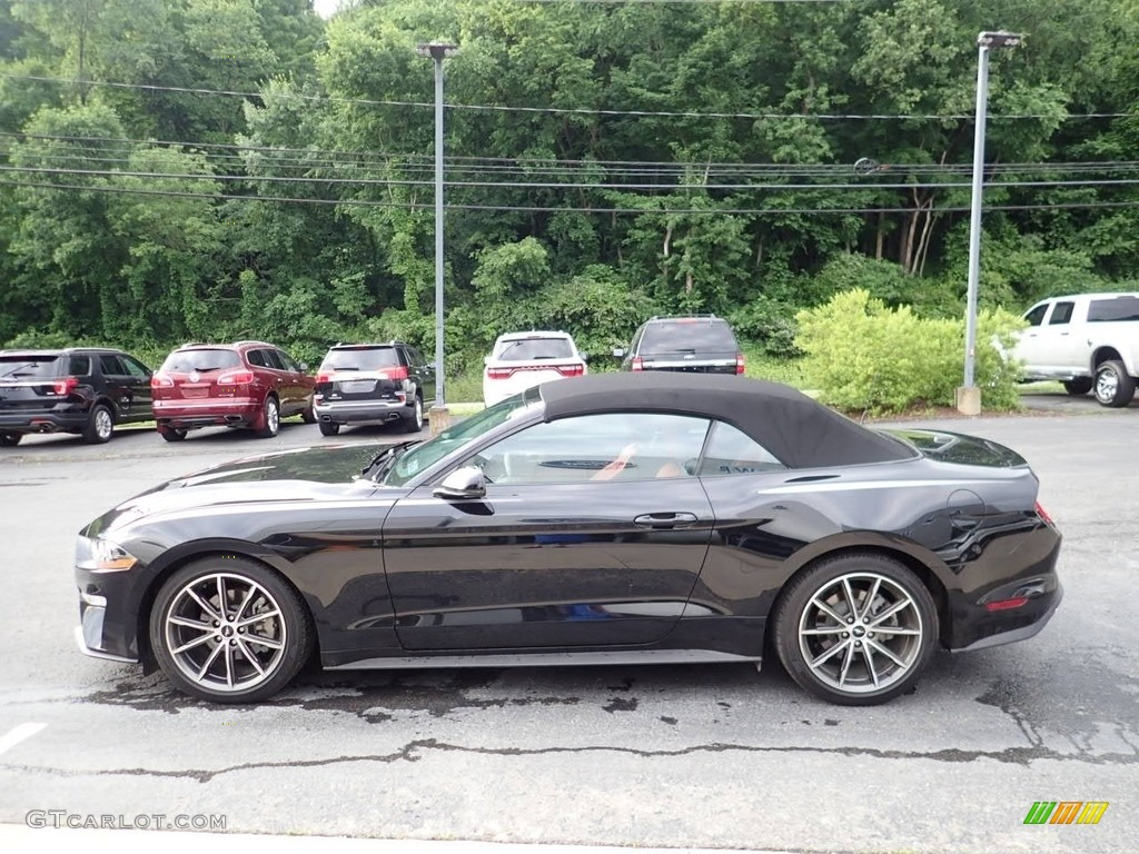 2019 Mustang EcoBoost Premium Convertible - Shadow Black / Showstopper Red photo #5