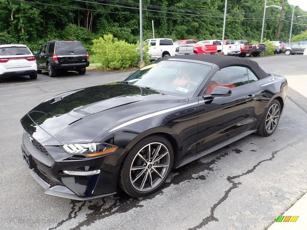 2019 Mustang EcoBoost Premium Convertible - Shadow Black / Showstopper Red photo #6