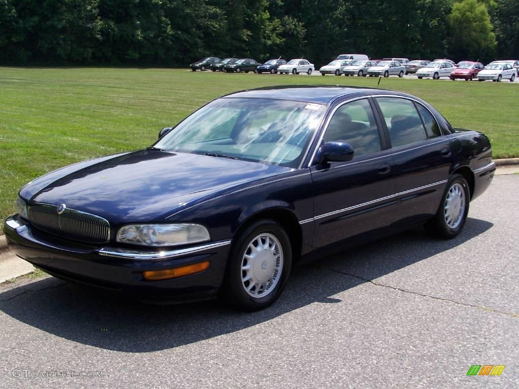 1998 Twilight Blue Metallic Buick Park Avenue Ultra Supercharged