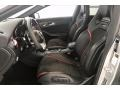 2017 CLA 45 AMG 4Matic Coupe Black/DINAMICA w/Red Stitching Interior