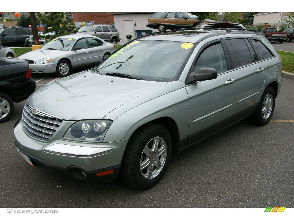 2004 satin jade green pearl chrysler pacifica awd 13826476 car color galleries. Black Bedroom Furniture Sets. Home Design Ideas