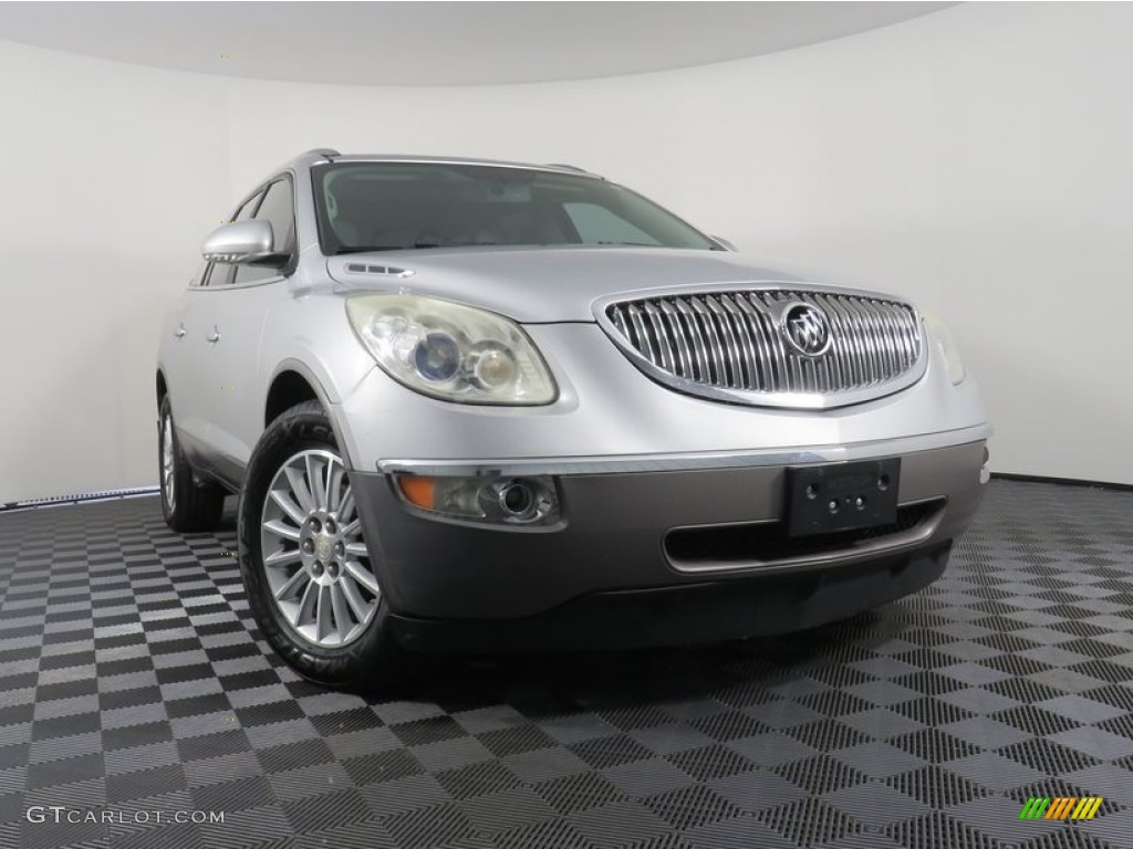 2011 Enclave CXL AWD - Quicksilver Metallic / Titanium/Dark Titanium photo #1