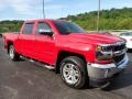 2016 Red Hot Chevrolet Silverado 1500 LT Crew Cab 4x4  photo #4