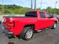 2016 Red Hot Chevrolet Silverado 1500 LT Crew Cab 4x4  photo #9