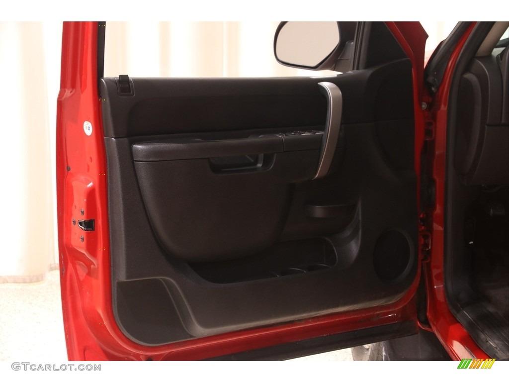 2013 Silverado 1500 LT Extended Cab 4x4 - Victory Red / Ebony photo #4