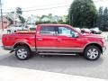 2020 Rapid Red Ford F150 Lariat SuperCrew 4x4  photo #6