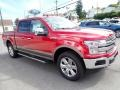 2020 Rapid Red Ford F150 Lariat SuperCrew 4x4  photo #7