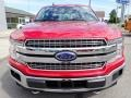 2020 Rapid Red Ford F150 Lariat SuperCrew 4x4  photo #8