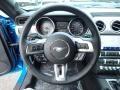 2020 Ford Mustang Ebony Interior Steering Wheel Photo