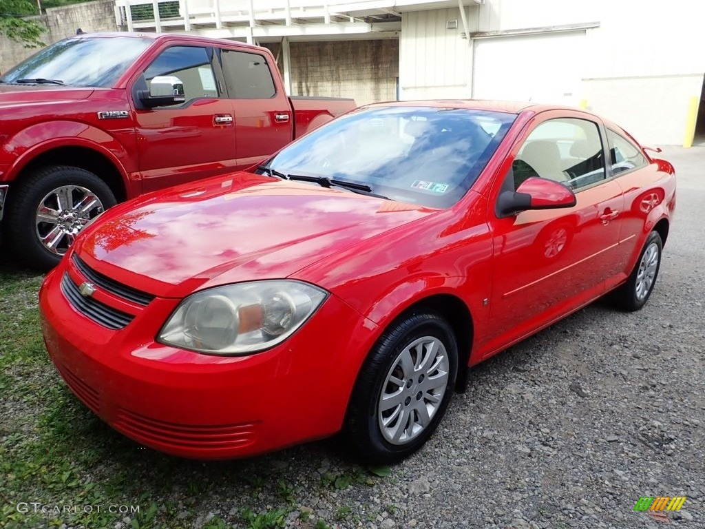 2009 Cobalt LT Coupe - Victory Red / Gray photo #1