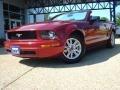 2006 Redfire Metallic Ford Mustang V6 Premium Convertible  photo #1
