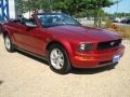 2006 Redfire Metallic Ford Mustang V6 Premium Convertible  photo #7