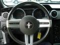 2007 Satin Silver Metallic Ford Mustang V6 Premium Convertible  photo #23