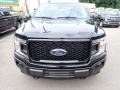 2020 Agate Black Ford F150 STX SuperCrew 4x4  photo #4