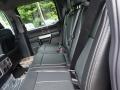 2020 Ford F250 Super Duty Black Interior Rear Seat Photo