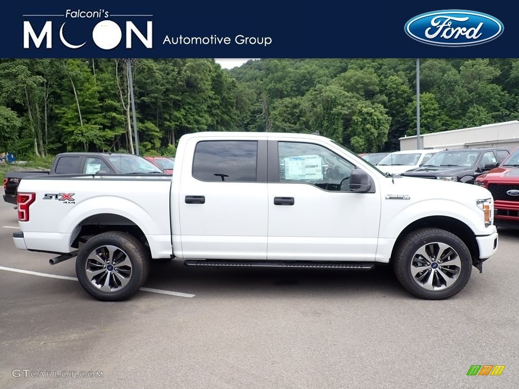 2020 F150 XL SuperCrew 4x4 - Oxford White / Medium Earth Gray photo #1
