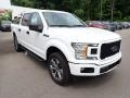 2020 Oxford White Ford F150 XL SuperCrew 4x4  photo #3