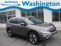 2016 Urban Titanium Metallic Honda CR-V Touring AWD  photo #1