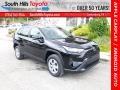 Midnight Black Metallic 2020 Toyota RAV4 LE AWD