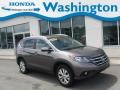 2013 Polished Metal Metallic Honda CR-V EX-L AWD  photo #1