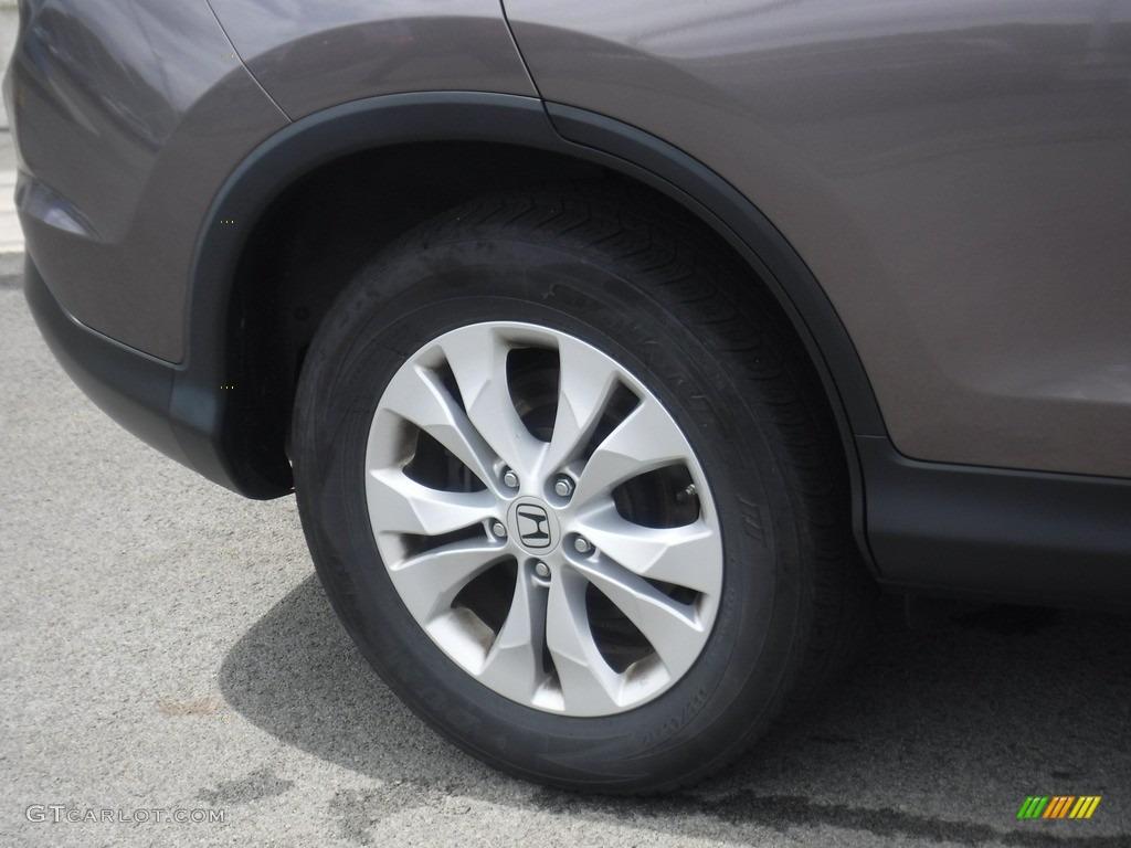 2013 CR-V EX-L AWD - Polished Metal Metallic / Black photo #3