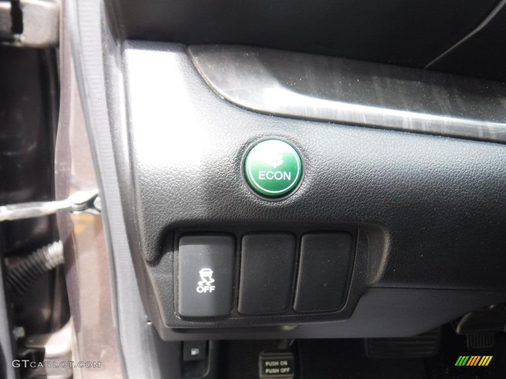 2013 CR-V EX-L AWD - Polished Metal Metallic / Black photo #15