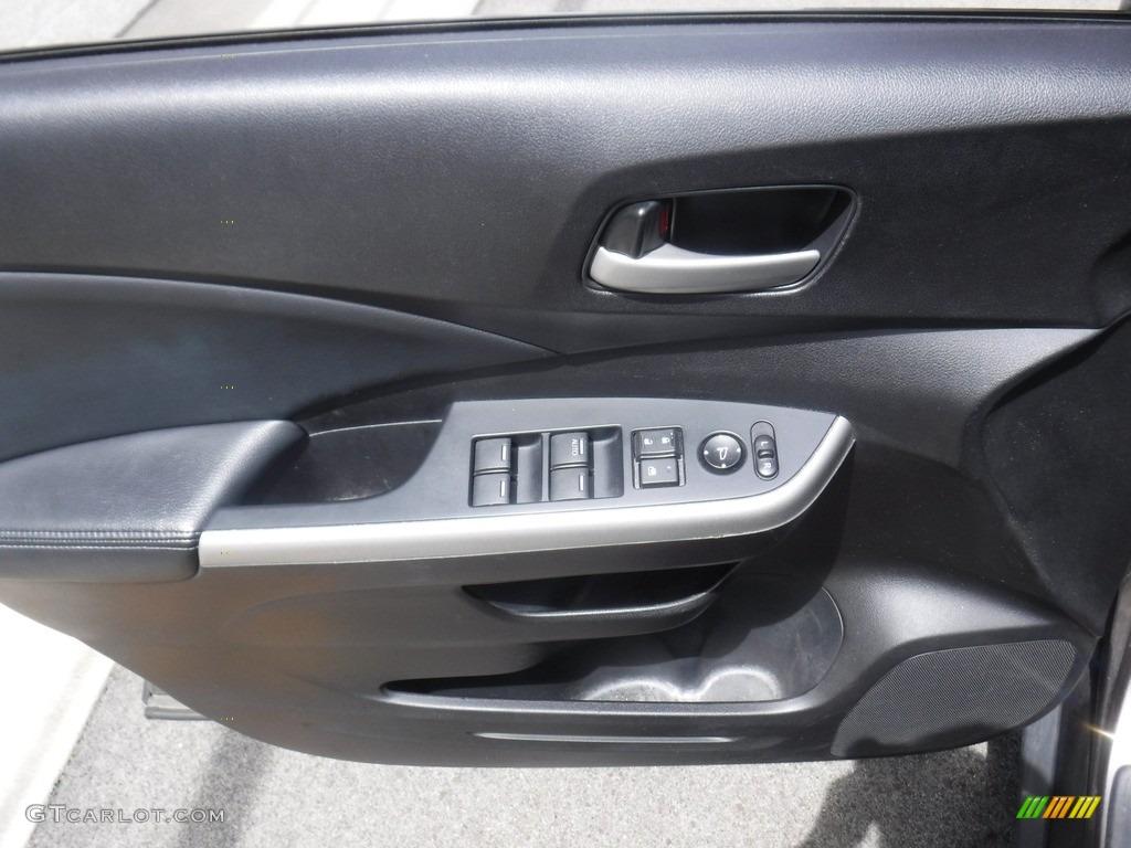 2013 CR-V EX-L AWD - Polished Metal Metallic / Black photo #16