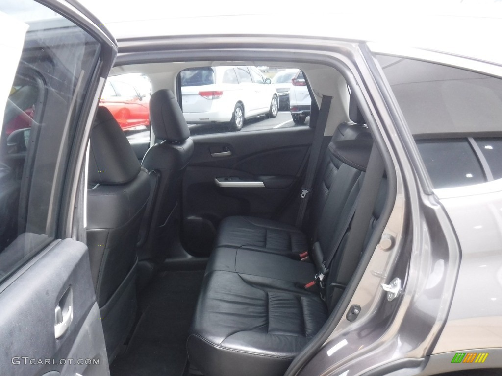 2013 CR-V EX-L AWD - Polished Metal Metallic / Black photo #22