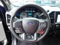 Medium Earth Gray Steering Wheel Photo for 2020 Ford F150 #138430162