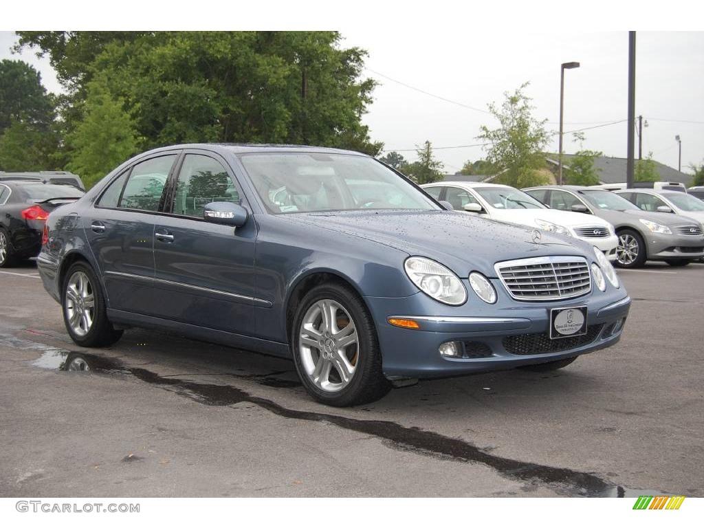 2006 platinum blue metallic mercedes benz e 350 sedan for Platinum mercedes benz