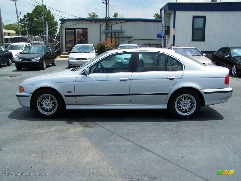 1999 5 series 528i sedan titanium silver metallic grey photo 1