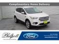 2019 White Platinum Ford Escape Titanium #138460193