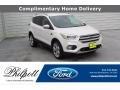 2019 White Platinum Ford Escape Titanium #138460193