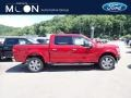 2020 Rapid Red Ford F150 Lariat SuperCrew 4x4  photo #1