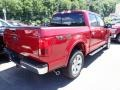 2020 Rapid Red Ford F150 Lariat SuperCrew 4x4  photo #2
