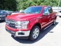 2020 Rapid Red Ford F150 Lariat SuperCrew 4x4  photo #5