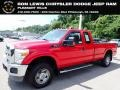 2011 Vermillion Red Ford F250 Super Duty XLT SuperCab 4x4 #138460205