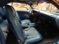 1970 Dodge Challenger Blue Interior Interior Photo