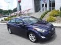 Indigo Night 2013 Hyundai Elantra GLS