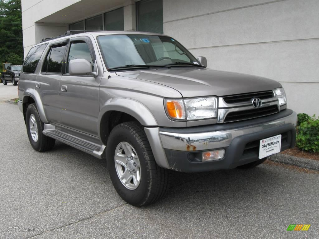 2001 thunder cloud metallic toyota 4runner sr5 4x4 13827365 car color galleries. Black Bedroom Furniture Sets. Home Design Ideas