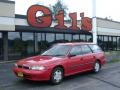 1997 Rio Red Subaru Legacy L Wagon Right Hand Drive #13819427