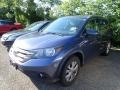 2012 Twilight Blue Metallic Honda CR-V EX-L 4WD #138487735