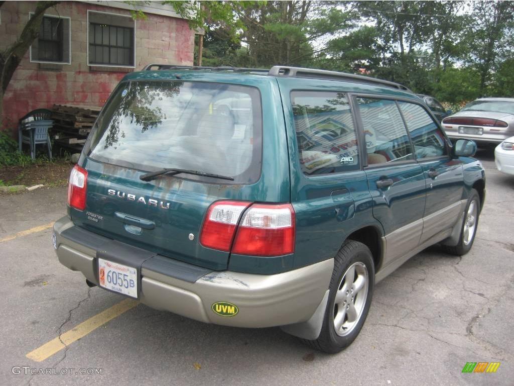 2001 arcadia green metallic subaru forester 2 5 s 13831115 photo 2 gtcarlot com car color galleries gtcarlot com