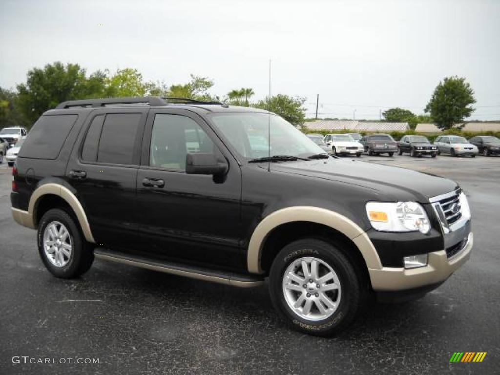 2009 black ford explorer eddie bauer 4x4 13823530 car color galleries. Black Bedroom Furniture Sets. Home Design Ideas