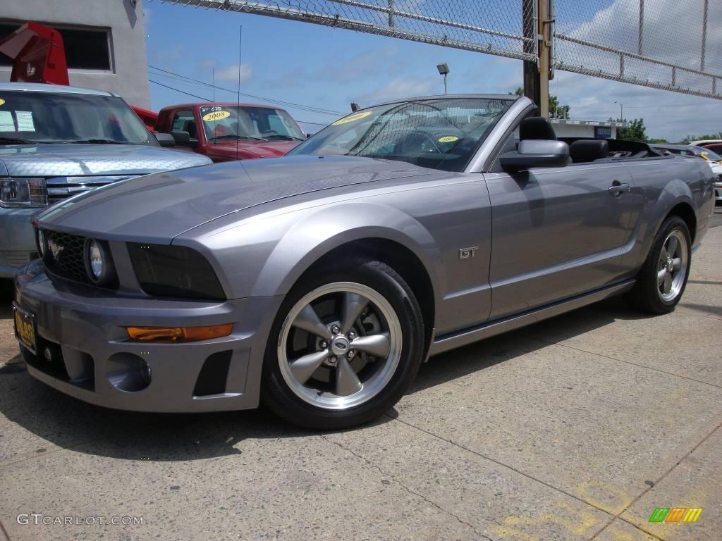 Tungsten Grey Metallic Ford Mustang