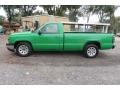 Dark Green Metallic - Silverado 1500 Work Truck Regular Cab Photo No. 4