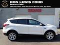 2019 White Platinum Ford Escape Titanium 4WD #138487028