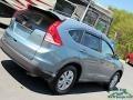 2014 Twilight Blue Metallic Honda CR-V EX-L AWD  photo #32
