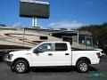 2020 Oxford White Ford F150 XL SuperCrew 4x4  photo #2