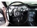 1967 Ford Mustang Deluxe Black Interior Steering Wheel Photo